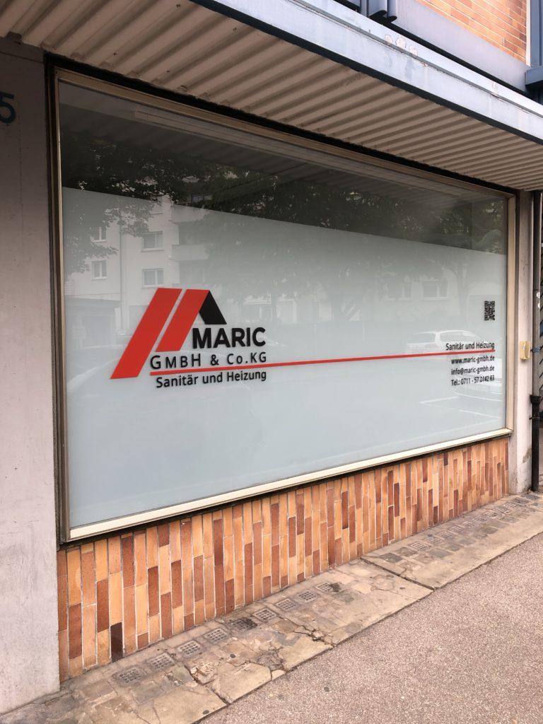 Schaufenster Maric GmbH